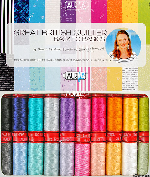 Great British Quilter: Back To Basics - Aurifil Thread Set
