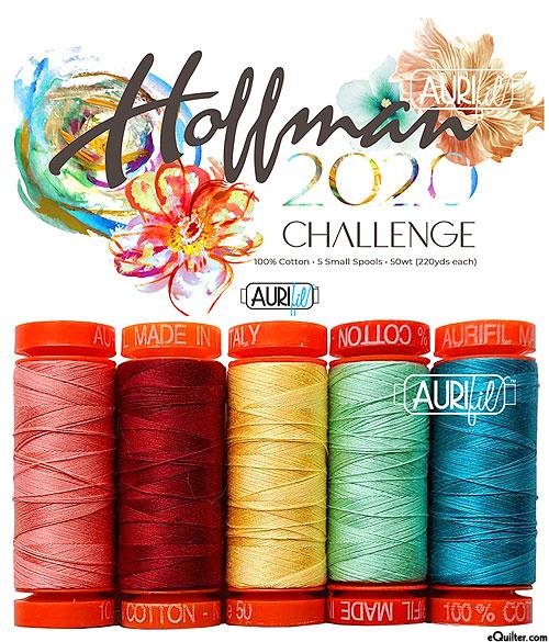 Hoffman Challenge 2020 Aurifil Thread Set - Garden State of Mind