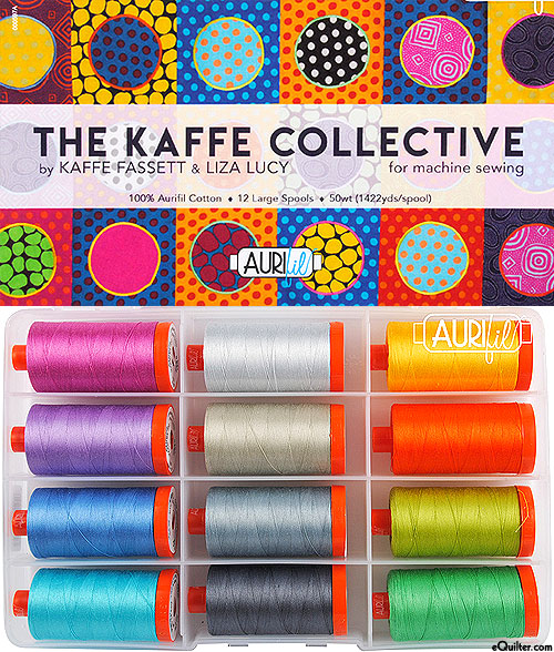 The Kaffe Collective - Aurifil Thread Set