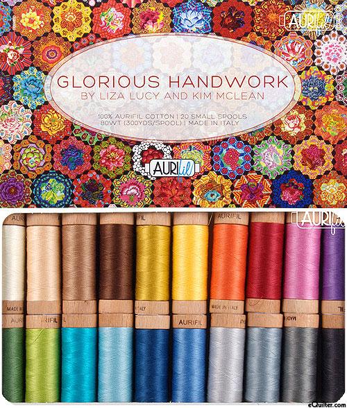 Glorious Handwork - Aurifil Thread Set