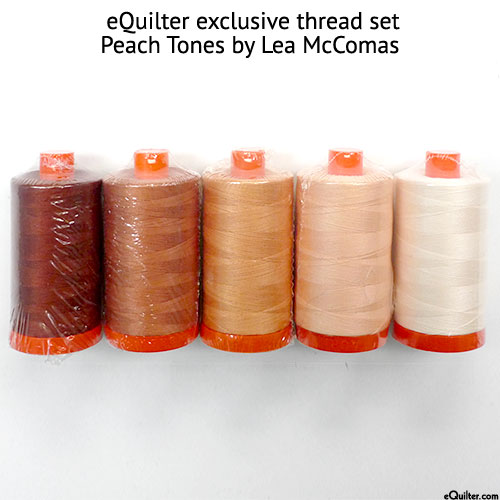 Aurifil Thread Set by Lea McComas - Peach Tones