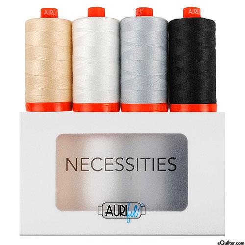 Necessities - Neutrals - Aurifil Thread Set