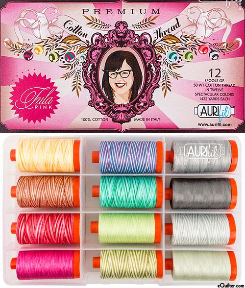 Premium by Tula Pink - Aurifil Thread Set - LARGE SPOOLS