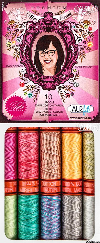 Aurifil Thread Set - Tula Pink - Premium - SMALL SPOOLS
