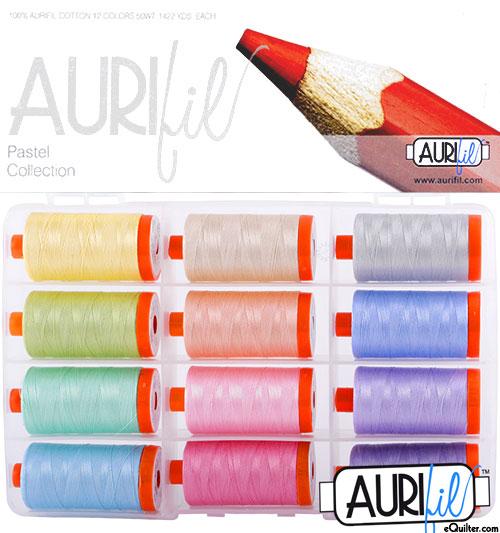 Pastel Collection - Aurifil Thread Set