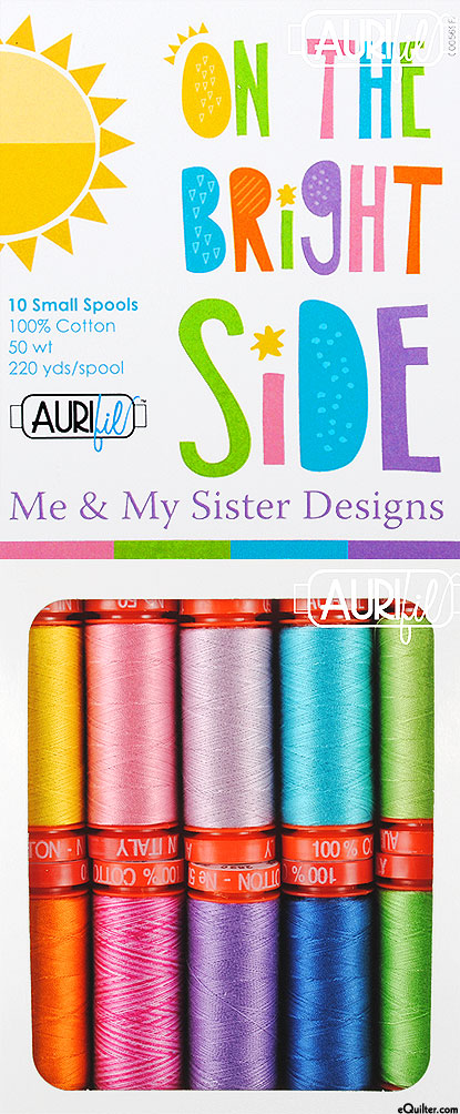 Me & My Sister Designs - On The Bright Side - Aurifil Thread Set