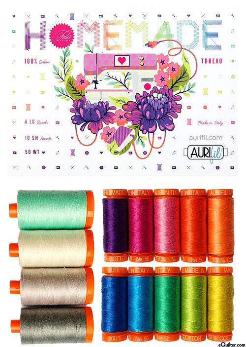 Homemade by Tula Pink - Aurifil Thread Set