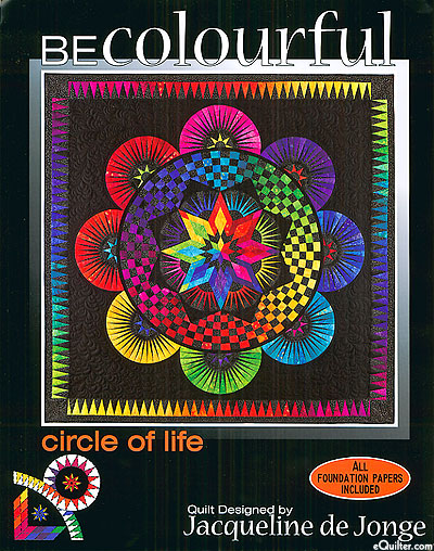 Be Colourful - Circle of Life - Paper Piecing Pattern