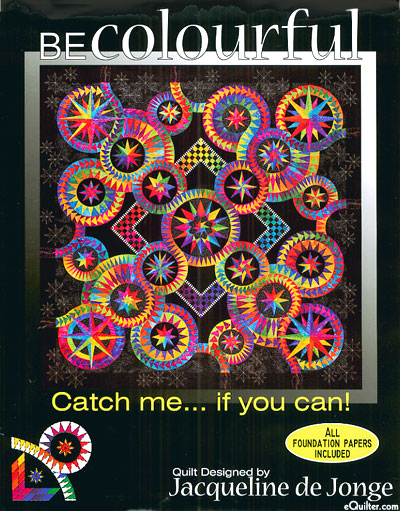 Be Colourful - Catch me... if you can! - Paper Piecing Pattern