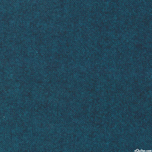 Winter Warmth - Tweedy Tonal - Steel Blue - FLANNEL
