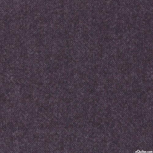 Winter Warmth - Tweedy Tonal - Charcoal Gray - FLANNEL