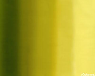 Gradations - Ombre Impressions - Ochre/Dark Olive Green