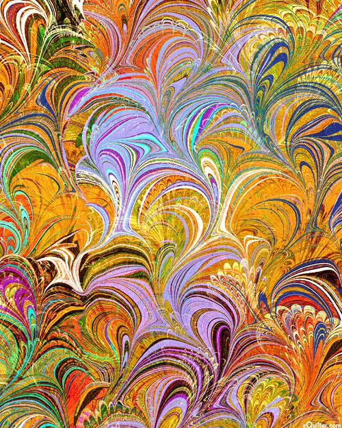 Poured Color - Cosette - Multi