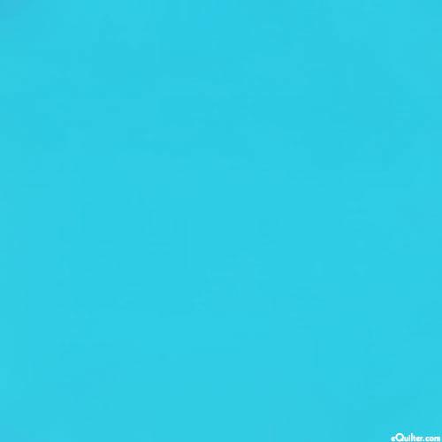 Turquoise - Benartex Superior Solid Cotton - Topaz Blue