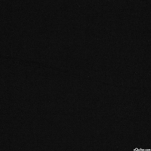 Basics - Benartex Superior Solid Cotton - Black