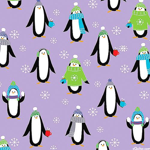 Snow Place Like Home - Penguin Pals - Lavender