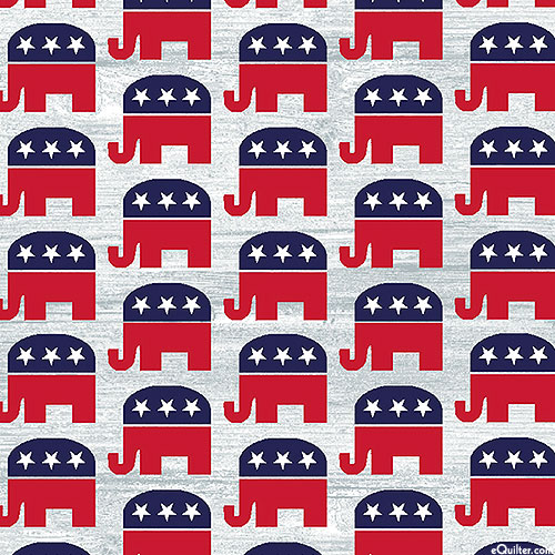 AMERICA Your Vote Counts - Party Animal - Elephants