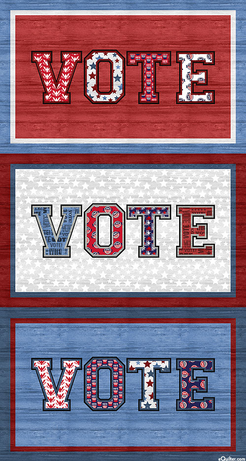 "AMERICA Your Vote Counts - Vote Here - 24"" x 44"" PANEL"