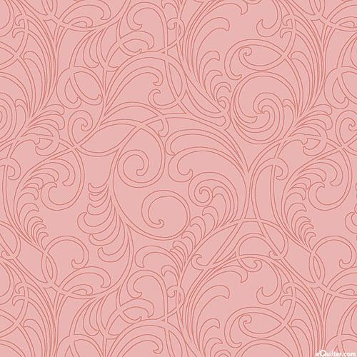 Classic Scrolls & Blenders - Garden Swirls - Petal Pink