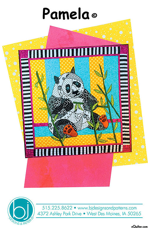 Pamela - Appliqué Pattern by Barbara J. Jones Designs