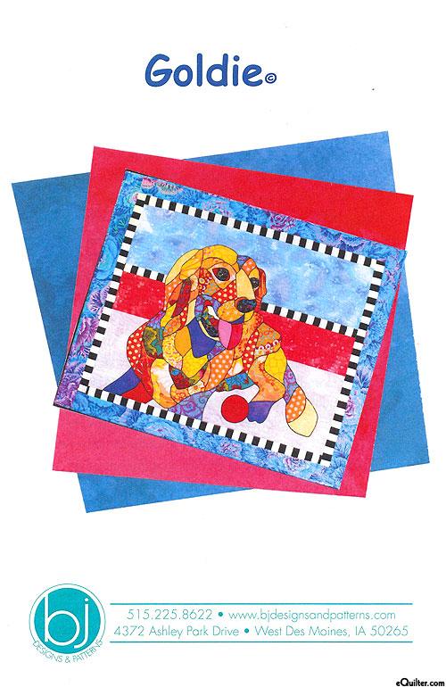 Goldie - Applique Pattern by Barbara J. Jones