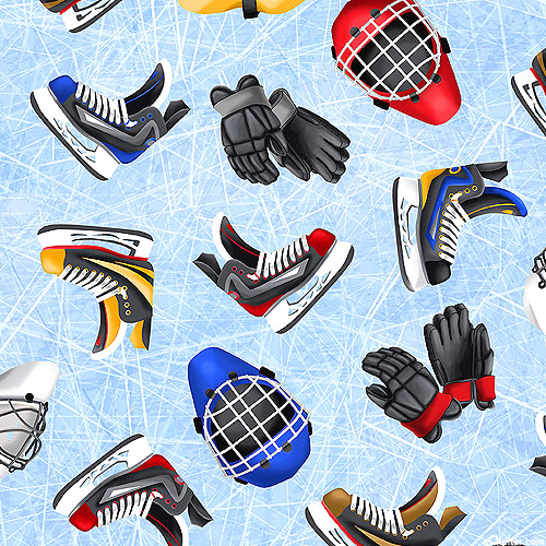 Love of the Game - Hockey Gear - Ice Blue