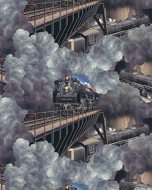 Express Tracks - Full Steam Ahead - Charcoal Gray