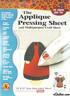 Applique Pressing Sheet, Multipurpose Craft Sheet
