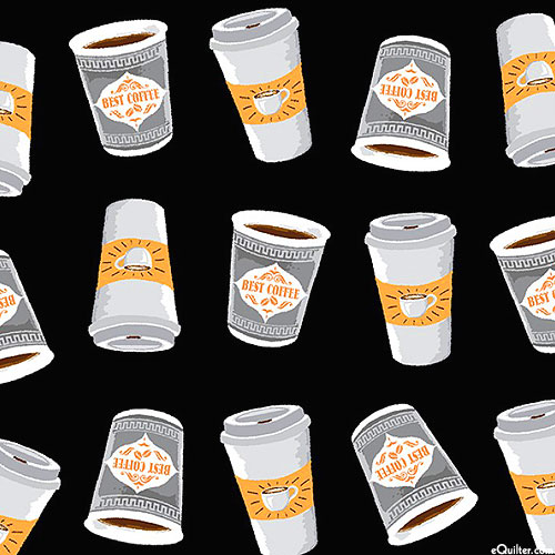 Coffee Shop - To Go Cups - Black
