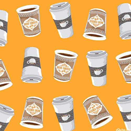Coffee Shop - To Go Cups - Butterscotch