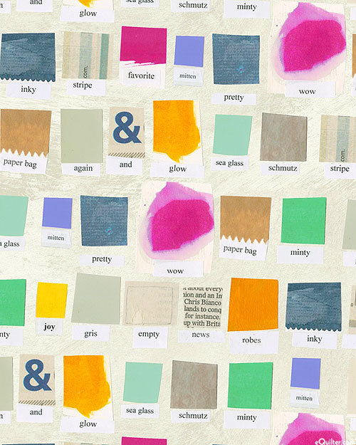 Color Theory - Swatch - Alabaster - DIGITAL PRINT
