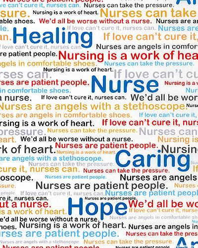 Calling All Nurses - Worse Without A Nurse - White