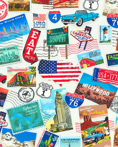 American Road Trip - Postcards from the USA - Ivory