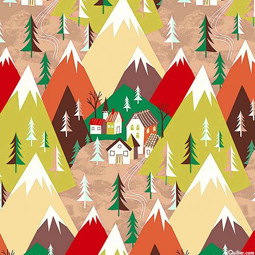 Winter Towne - Mountainous Neighborhood - Multi