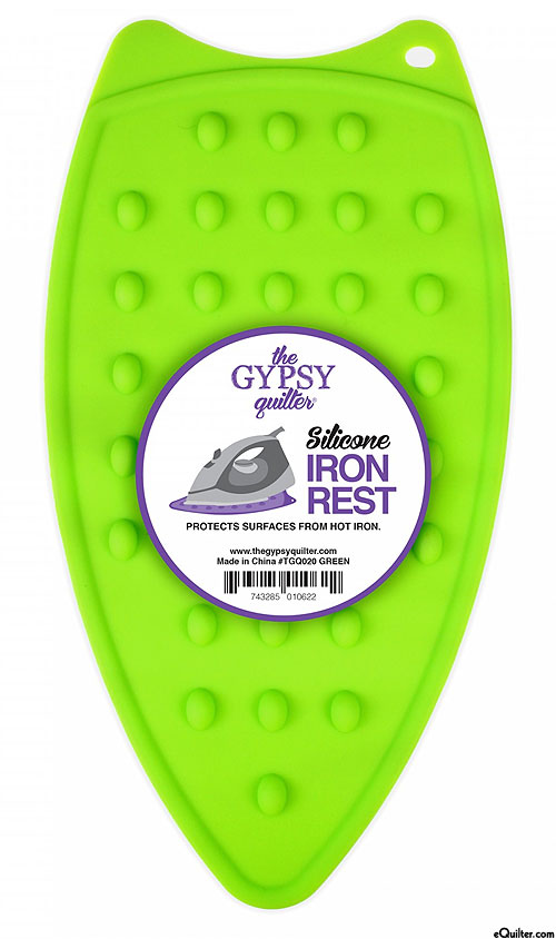 Silicone Iron Rest - Lime Green