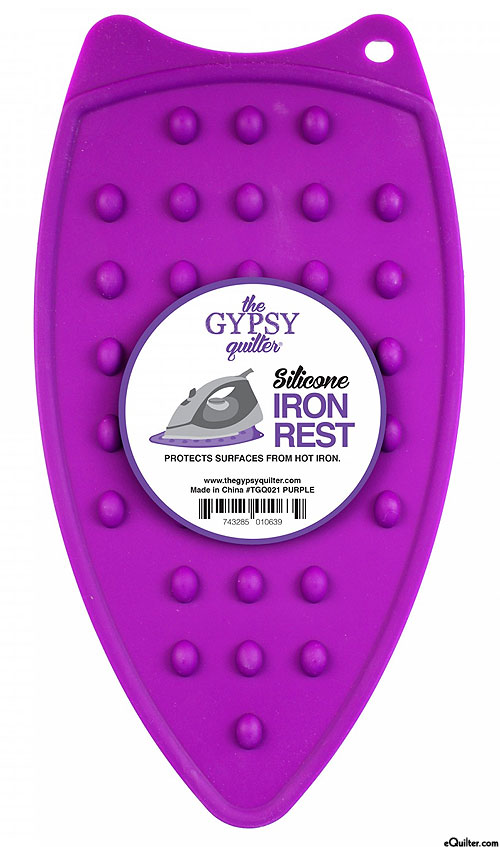 Silicone Iron Rest - Purple