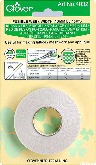 Fusible Web Tape - 10mm Wide