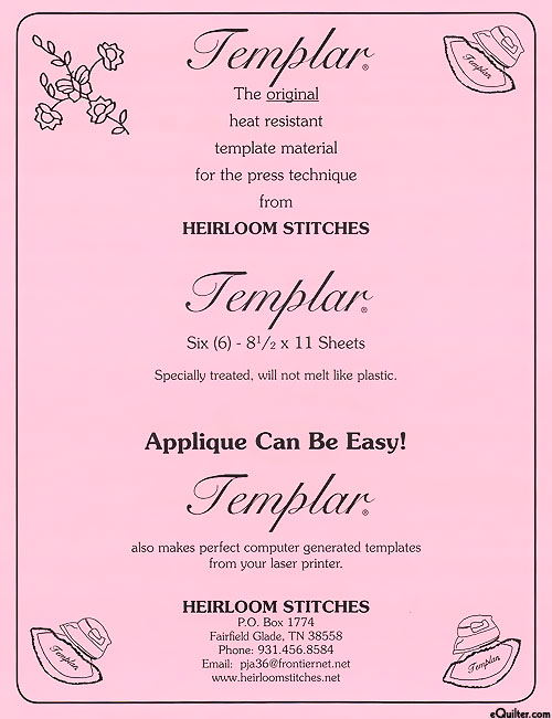 Templar Heat Resistant Template Sheets
