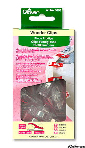 Wonder Clips - Set of 50 - Classic Red