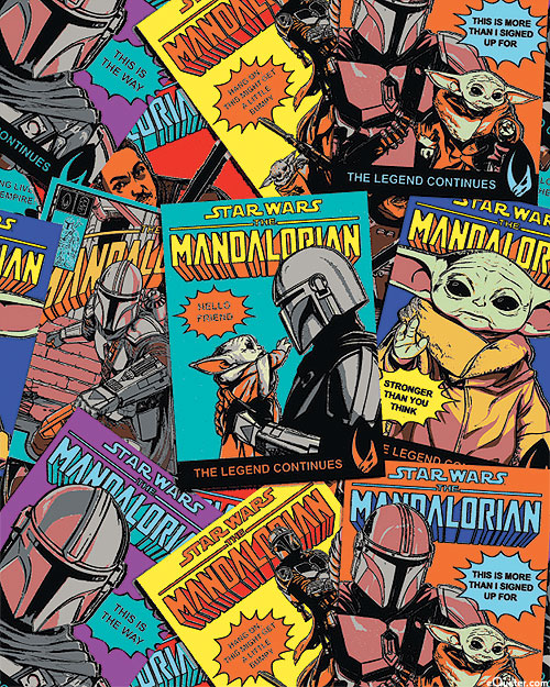 Mandalorian II - Star Wars Comic Posters - Multi