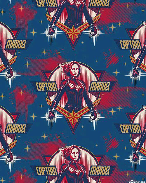 Captain Marvel - Starforce Standout - Steel Blue