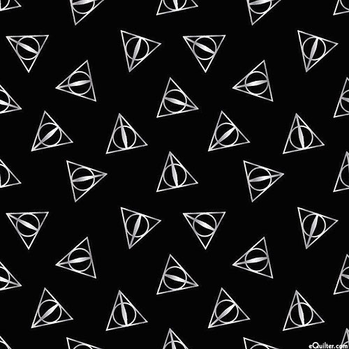 Harry Potter - Sign of the Deathly Hallows - Black/Silver