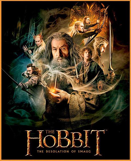 """The Hobbit - Desolation of Smaug - 36"""" PANEL - DIGITAL PRINT"""