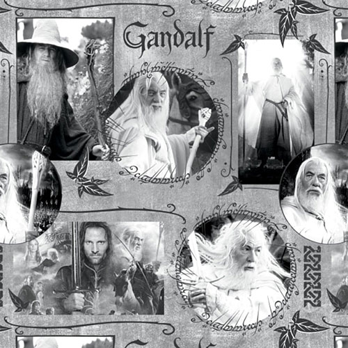 The Lord of the Rings - Gandalf the Gray - Fog - DIGITAL PRINT