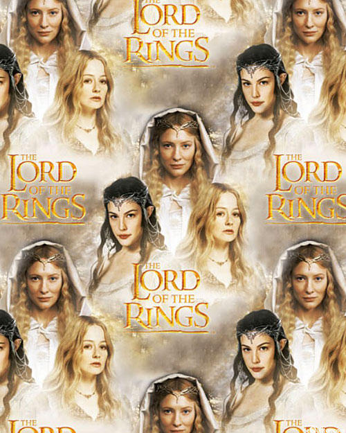 The Lord of the Rings - Galadriel, Arwen & Eowyn - DIGITAL PRINT