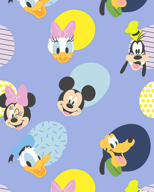 Disney Mickey Mouse Play All Day - Hello Memphis - Lilac Purple