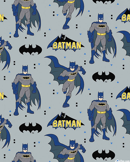 Young DC - Batman - Pewter Gray