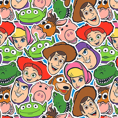 Toy Story - Playroom Group - Sky Blue