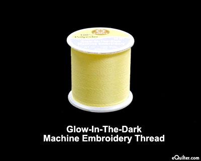 Glow-In-The-Dark Thread - 100 yd - Yellow