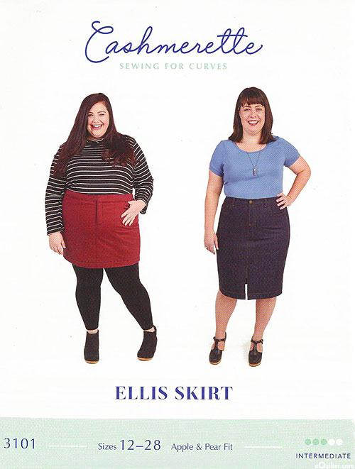 Ellis Skirt - PLUS SIZE Pattern by Cashmerette Sewing